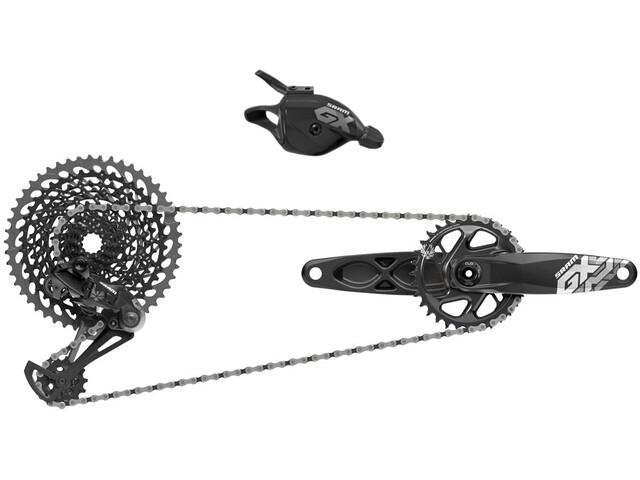SRAM GX Eagle Gruppe 1x12 DUB Boost 32Z. 175mm sort (2019)   Geargrupper